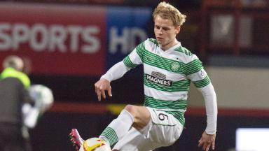 Gary Mackay-Steven in action for Celtic.