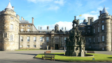 Tourist area: £10m revamp for Holyroodhouse.