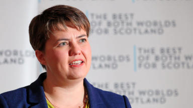 Ruth Davidson: Sending letter to 600,000 voters (file pic).