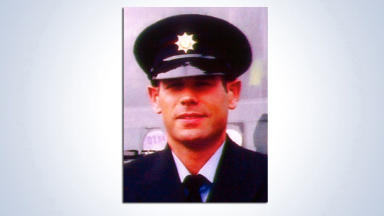 Ewan Williamson collect pic of firefighter who died tackling fire in Edinburgh pub in 2009. Uploaded February 23 2015