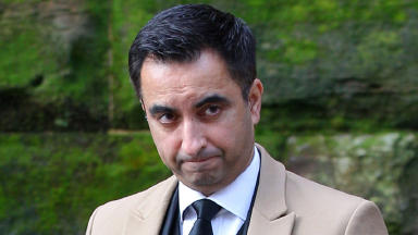Target: Aamer Anwar said threats left him in 'a terrifying and deeply lonely place'.