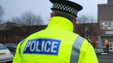 Police presence: Roads remain closed around Shawlands area.