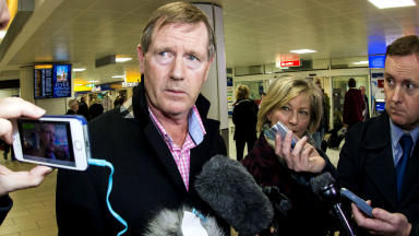 Dave King Glasgow Airport