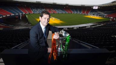 Hampden hopes: Jackie McNamara could lift his first trophy as a manager on Sunday.