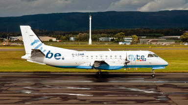 Saab 340 flybe aircraft operated by loganair quality image creative commons uploaded april 1 2015