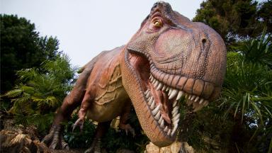 Edinburgh Zoo Dinosaur Return exhibition