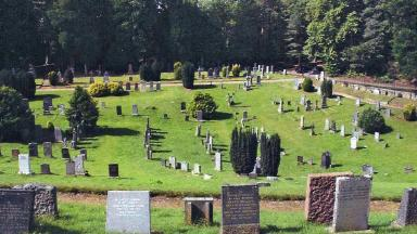 Cluny Hill Cemetery: Book lists details from every gravestone.