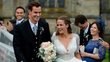 New arrival: The Murray's first child was born on February 7.