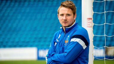 Strong: Paul Cairney is confident Kilmarnock will survive.