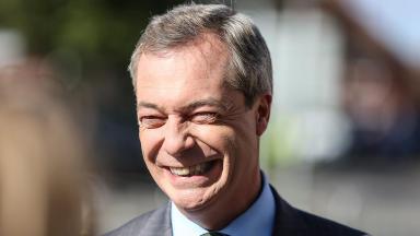 Nigel Farage: Ukip leader attended Fishing for Leave conference (file pic).