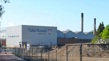Tullis Russell: Company unlikely to pay fine in full as it is in administration.
