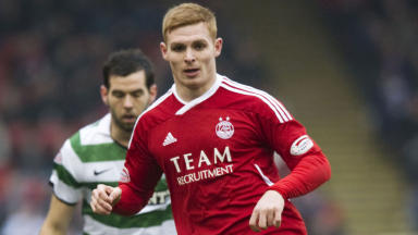 Fraser Fyvie has made 62 appearances for the Dons since his debut in August 2009, scoring three times.