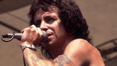 Bon Scott: The singer his AC/DC heyday.