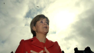 Nicola Sturgeon: Will be joined by minister for climate change Aileen McLeod.