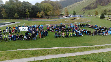 Campaigners stage climate protest at Holyrood