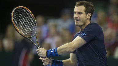 Andy Murray: World number one will face Sam Querrey.