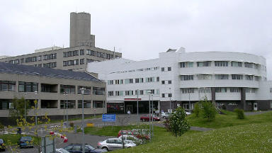 Ninewells Hospital Dundee NHS pic from Geograph quality news image uploaded May 19 2015