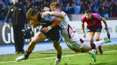 Glasgow Warriors: Win over Ulster books place in Pro12 final.