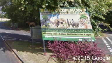 Attack: The stabbing took place at Blair Drummond safari park.