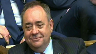 Alex Salmond: Former First Minister comes under fire over comments.