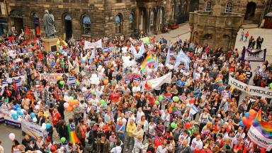 Pride: Large crowds expected at 2016 event (file pic).