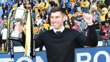 Mark Burchill has been sacked as manager of Livingston.