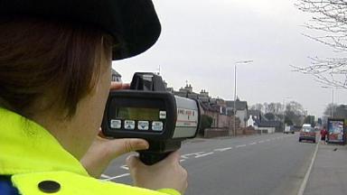 Speed Checks: Police crackdown on speeding commuters.