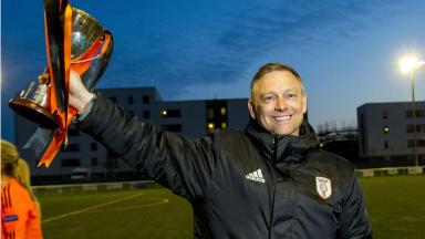 Eddie Wolecki Black leaves Glasgow City