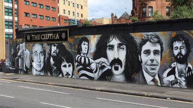 Glasgow Street Art - Clutha 1138