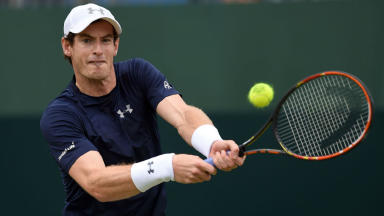 Andy Murray is aiming to lift the Australian Open title.
