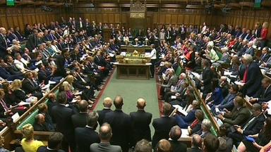 Commons: Pitched battle over welfare reform.