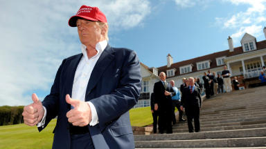 Donald Trump: Billionaire at Turnberry.