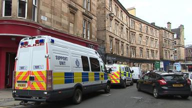 Police: Scene on Parnie Street where man was found dead.