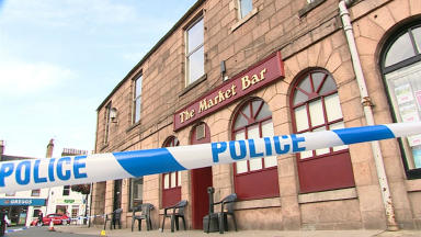 Market Bar: The serious assault occurred outside the Stonehaven pub.
