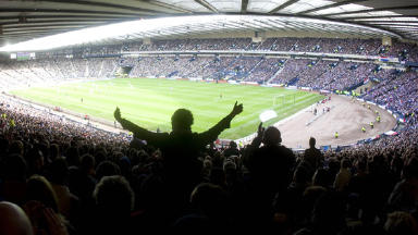 Spiritual home: Hampden Stadium will host the 2012 Scottish Cup final