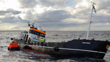 Erin Wood: Two crewmembers were in grave danger.
