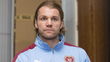 Hearts Head Coach Robbie Neilson talks to the press ahead of his side's forthcoming fixture against Kilmarnock