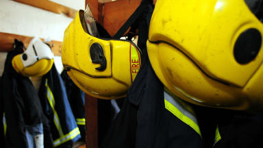 Firefighters: Numbers at lowest level since 2010 (file pic).