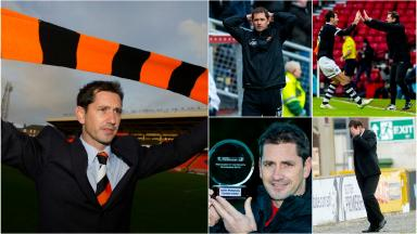 Jackie McNamara's time in charge of Dundee United