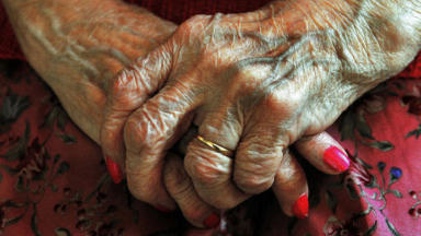 Anonymous elderly hands used for centenarian story retired aged generic quality news image uploaded September 30 2015