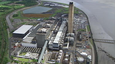 Longannet: Power station to close at the end of the month.