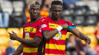 Osman Sow and Mathias Pogba
