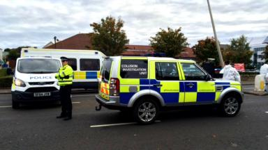 Man found dead after hit and run at Comiston Road, Edinburgh, October 9, 2015.