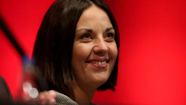 Unite: Kezia Dugdale spoke at the conference.