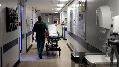 Hospitals: Not meeting 'demanding' Scottish Government targets.