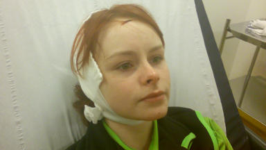 Paige Rolland: Was attacked with a bottle by former Countdown champion.