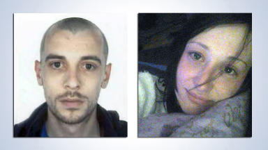 M9 crash: The couple lay undiscovered for three days.