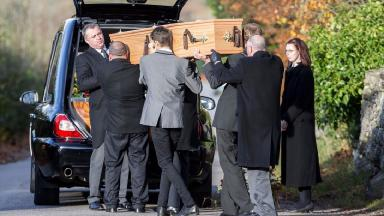 Funeral of Bailey Gwynne in Aberdeen on November 13 2015