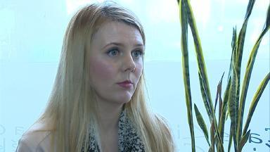 Mariesha Payne  survived Bataclam terrorist attack in Paris. Pic from broadcast still.
