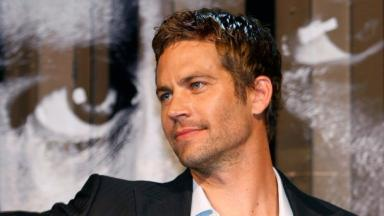 Actor Paul Walker.